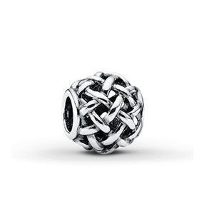 Pandora sterling silver Forever Entwined charm